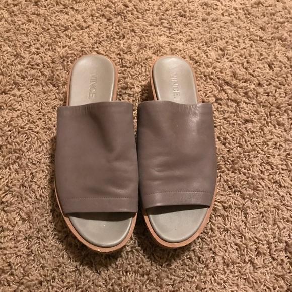 c306e7dee34 Vince Shoes - Vince flatform mule